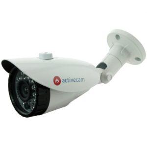 """ulichnye-kamery, ip-kamery - IP камера видеонаблюдения ActiveCam AC-D2103IR3 (2.8-12 мм) - В основу ActiveCam AC-D2103IR3 положена 1/4"""" CMOS-матрица с максимальным разрешением 1280х720 точек, чувствительностью 0.008 Люкс при F1.4 (0 Люкс ИК вкл.) и скоростью трансляции 20 Fps. Камера поддерживает режим работы «день/ночь» и оборудована механическим ИК-фильтром для коррекции цветовой передачи в светлое время суток и увеличения уровня чувствительности в темное. Устройство снабжено встроенной ИК-подсветкой с дальностью действия до 30 метров, дающей возможность осуществления ночного видеоконтроля площадей, необорудованных дополнительным освещением, или в тех ситуациях если свет неожиданно погас. Поддерживается DualStream, предназначенный для снижения нагрузки на видеорегистратор и сеть, а также упрощения доступа через «всемирную паутину». Компрессия отснятых материалов производится с помощью видеокодека H.264. Срок гарантийных обязательств, составляющий 2 года, можно увеличить еще на 1 год, зарегистрировав приобретенное устройство. - primcam.ru - primcam_ru - примкам - videonabludenie vladivostok"""