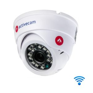 """wi-fi-kamery, ip-kamery - Wi-Fi камера видеонаблюдения AC-D8101IR2W (2.8 мм) - Бюджетная беспроводная компактная 1Мп IP-камера с ИК-подсветкой. 1/4'' CMOS матрица, чувствительность: 0.01 Лк (F1.8) / 0 Лк (F1.8; ИК вкл.), объектив 2.8 мм, разрешение 1280*720@25к/с, DWDR, 3D-NR, BLC, Defog, ROI, режим """"день/ночь"""" (механический ИК-фильтр), встроенный архив (Edge Storage) - microSD до 128 Гб, питание 12VDC, -10…+50°C, размеры Ø 94мм x 80мм. Передача данных по сети Ethernet или WiFi. ИК-подсветка до 20 м. Быстрое подключение к TRASSIR CLOUD. - primcam.ru - primcam_ru - примкам - videonabludenie vladivostok"""