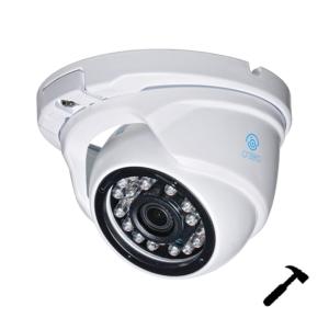 antivandalnye-kamery, ip-kamery - IP камера видеонаблюдения O'Zero NC-VD10 (2.8 мм) - Антивандальная IP-камера NC-VD10 (2.8) обеспечивает передачу видеопотока с разрешением до 1 Мп (1280x720). Данная модель оснащена ИК-подсветкой дальностью до 30 метров и объективом с фиксированным фокусным расстоянием 2.8 мм, обеспечивающим угол обзора 65°. Питание видеокамеры осуществляется от источника постоянного тока 12 В. Видеокамера имеет антивандальное уличное исполнение (класс защиты IP66). - primcam.ru - primcam_ru - примкам - videonabludenie vladivostok