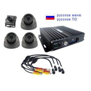 videonabljudenie-dlja-transporta, komplekty-videonabljudenija - Комплект видеонаблюдения для транспорта NSCAR201HD - Комплект видеонаблюдения на 2 камеры NSCAR201HD (4х канальный регистратор SD, 2 камеры HD, микрофон, кабели для подключения). - primcam.ru - primcam_ru - примкам - videonabludenie vladivostok