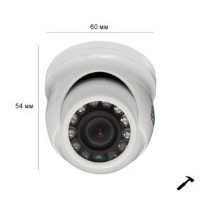 ulichnye-kamery, antivandalnye-kamery, analogovye-kamery, hd-tvi-kamery, hd-cvi-kamery, ahd-kamery - Миниатюрная камера видеонаблюдения ST-2006 V.2 (3.6 мм) - ST-2006 (версия 2) (объектив 3,6mm), Видеокамера цветная,уличная 4-in-1 (4 режима работы: AHD/TVI/CVI/Analog), с ИК подсветкой, Купольная, Матрица: 1/2.7 CMOS, Разрешение: 2МП (1080P)/960H, Фокусное расстояние: 3,6mm (80,6 гр), Дальность ИК подсветки: до 10 м, 12 СИД, Минимальное освещение: 0,05/0 Лк с ИК, Электронный затвор: Авто 1/50-50000, Напряжение питания: Стабилизированное 12V+10%, Ток потребления: Не более 0,3 А, OSD-меню * только в режиме TVI из в/регистраторов линейки ST-TVI PRO, ИК-фильтр: IR-Cut Filter, Компенсация заднего света: BLC, Технология подавления шумов в изображении: 2DNR, Расширение диапазона: D-WDR, Сенсор ночи, MP оптика, 25к/сек RealTime, Механизм крепления видеокамеры: 3D-ось, Рабочая температура: -45...+60°C, Материал корпуса: металл - primcam.ru - primcam_ru - примкам - videonabludenie vladivostok