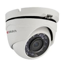 ulichnye-kamery, antivandalnye-kamery, analogovye-kamery, hd-tvi-kamery, kamery-videonabljudenija - Антивандальная купольная TVI камера HIWATCH DS-T103 (3,6ММ) - DS-T103 Уличная купольная HD-TVI камера 1Мп с ИК-подсветкой до 15м 1/4 CMOS матрица объектив 3.6мм (2.8мм, 6мм опционально) угол обзора: 70.9°(3.6мм), 92°(2.8мм), 56.7°(6мм) механический ИК-фильтр 0.1 Лк@F1.2 DNR Видеовыход: HD-TVI или CVBS IP66 -40°С...+60°С 12В DC±15%, 4Вт макс - primcam.ru - primcam_ru - примкам - videonabludenie vladivostok