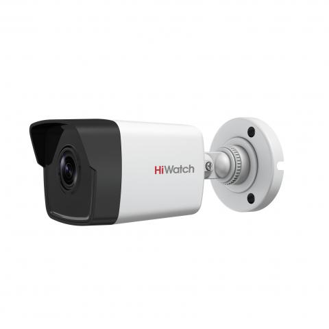 ip-kamery - IP камера видеонаблюдения HiWatch DS-I100 (2.8 мм) - DS-I100 (2.8mm) 1Мп уличная цилиндрическая IP-камера с ИК-подсветкой до 30м 1/4'' Progressive Scan CMOS матрица; объектив 2.8мм; угол обзора 92°; механический ИК-фильтр; 0.01Лк@F1.2; DWDR; 3D DNR; BLC; EXIR Smart ИК; видеобитрейт 32кб/с - 2Мб/с; IP67; -40°C до +60°C; 12В ±25%/PoE (802.3af); 5Вт макс. - primcam.ru - primcam_ru - примкам - videonabludenie vladivostok