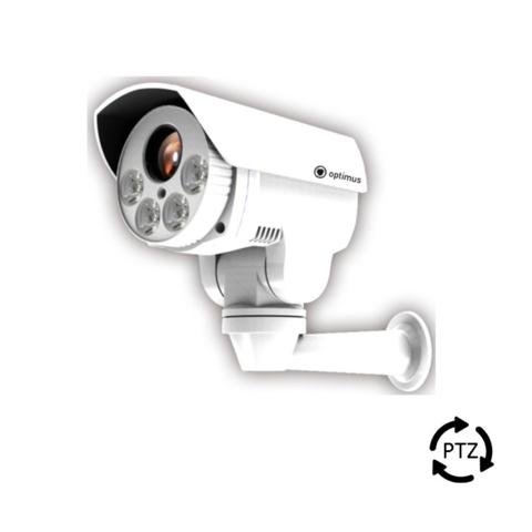 """povorotnye-kamery, ip-kamery - Поворотная IP камера видеонаблюдения Optimus IP-P082.1 (10xZoom) - 1/2,8"""" 2,1 Мп (Full HD) Exmor CMOS Sony sensor IMX222, 10x оптическое увеличение 5.1~51 мм варифокальный моторизированный F1.6, Цвет: 0.5Лк, Ч/б: 0.01Лк@F1.6 (0Лк при включенной ИК подсветке), Обзор 0°~260°, наклон 65°, Вращение: 0,5°/сек - 12°/сек., наклон: 0,5°/сек - 10°/сек., 256 предустановок, 8 туров, 4 шаблона, поддержка SD карты до 64 Гб, режим день/ночь, встроенный ИК-фильтр, 4 ИК-диода с линзами, изменение дальности подсветки в зависимости от угла обзора (до 80м), питание DC12В (1А), PoE, Max 12Вт, -40ºC~60ºC, пластиковый корпус, IР66, настенный алюминиевый кронштейн в комплекте - primcam.ru - primcam_ru - примкам - videonabludenie vladivostok"""