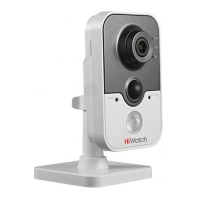 kamery-videonabljudenija, vnutrennie-kamery, ip-kamery - IP камера видеонаблюдения HiWatch DS-I214 (4 мм) - Разрешение 2Мп, ИК-подсветка до 10м, Встроенные микрофон и динамик - primcam.ru - primcam_ru - примкам - videonabludenie vladivostok
