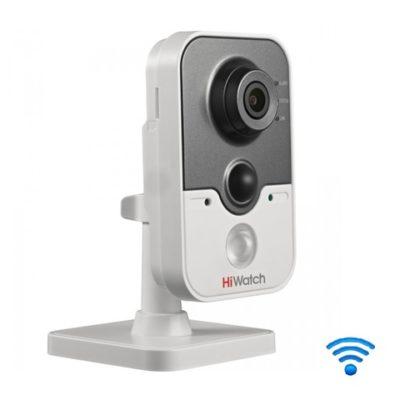 oblachnye-kamery-i-s-zapisju-na-kartu-pamjati, kamery-videonabljudenija, vnutrennie-kamery, wi-fi-kamery, ip-kamery - Wi-Fi камера видеонаблюдения HiWatch DS-I114W (2.8 мм) - DS-I114W (2.8 mm) 1Мп внутренняя IP-камера c ИК-подсветкой до 10м 1/4'' CMOS матрица объектив 2.8мм угол обзора 67.27° механический ИК-фильтр 0.01лк @F1.2 DWDR, 3D DNR, BLC встроенный микрофон/ динамик PIR-датчик обнаружение движения, вторжения в область и пересечения линии видеобитрейт 32кб/с -8Мб/с 12В/PoE -20°C ...+60°C 5.5Вт макс - primcam.ru - primcam_ru - примкам - videonabludenie vladivostok