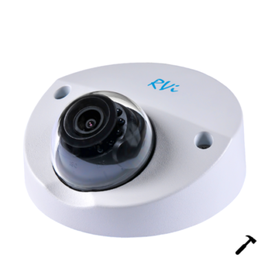 "ulichnye-kamery, oblachnye-kamery-i-s-zapisju-na-kartu-pamjati, kamery-videonabljudenija, antivandalnye-kamery, ip-kamery - IP камера видеонаблюдения RVi-IPC34M-IR V.2 (2.8 мм) - IP 4 Мп купольная; 1/3"" КМОП; 2688х1520 - 25 к/с; 2.8 мм; 0.08/0 лк; ИК-подсветка: 20 м; BLC / HLC / WDR (120 дБ); H.265 / H.264; Микрофон; MicroSD 128 ГБ; 12 DC/PoE (802.3af), 4.5 Вт; IP67, IK10; -40°С ~ +60°С; Ø 106 x 50.3 мм. - primcam.ru - primcam_ru - примкам - videonabludenie vladivostok"
