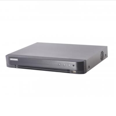 videoregistratory - Видеорегистратор 4-х канальный Hikvision DS-7204HQHI-K1 - 4-х канальный гибридный HD-TVI регистратор для аналоговых/ HD-TVI, AHD и CVI камер + 1 канал IP@4Мп (до 5 каналов с полным замещением аналоговых каналов)? Видеовход: 4 канала, BNC (поддержка управления по коаксиальному кабелю); аудиовход: 4 канала RCA; видеовыход: 1 VGA и 1 HDMI до 1080Р, 1 CVBS; аудиовыход: 1 канал RCA., Разрешение записи на канал: для TVI: 1080p Lite вкл.: 3Мп@15к/с (1й канал), 1080p/720p@25к/с; 1080p Lite выкл.: 3Мп камера (1й канал): 3Мп/1080p/720p/VGA/WD1/4CIF/CIF@15к/с, 2Мп камера: 1080p/720p@15к/с, VGA/WD1/4CIF/CIF@25к/с, 1Мп камера: 720p/VGA/WD1/4CIF/CIF@25к/c; для AHD и CVI: 1080p/720p@25к/с; для аналоговых камер: WD1@25к/с; для IP: по умолчанию 1 канал 4Мп@25к/с; синхр. воспр. 4 канала; 1 SATA для HDD до 6Тб; тревожные вход/выход 4/1; 1 RJ45 10M/ 100M Ethernet; 2 USB; -10°C...+55°C; DC12В; 6Вт макс (без HDD); ≤1.16кг (без HDD). - primcam.ru - primcam_ru - примкам - videonabludenie vladivostok
