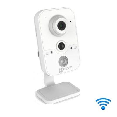 "oblachnye-kamery-i-s-zapisju-na-kartu-pamjati, kamery-videonabljudenija, vnutrennie-kamery, wi-fi-kamery, ip-kamery - Wi-Fi камера видеонаблюдения Ezviz C2W - Камера EZVIZ C2W для помещения, Разрешение 1280 х 720, 1/3"" CMOS 1MP сенсор, Запись до 25 кадров в секунду, Датчик движения, Инфракрасная подсветка до 10 м, MicroSD карта памяти до 128GB, Авт. ИК (ICR)фильтр день / ночь, Цифровой WDR (динамика), Wi-Fi IEEE802.11B, G и N, Температурный режим: –10C ~ 50C, Потребляемая мощность : 5W (Max), Размеры (mm): 70.6×66×139.1, Вес: 400g, Гарантия 1 год - primcam.ru - primcam_ru - примкам - videonabludenie vladivostok"