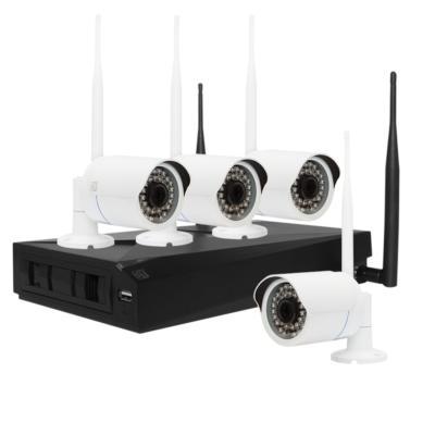 komplekty-videonabljudenija - Wi-Fi комплект видеонаблюдения ST-400-WF - Space Technology ST-400-WF IP - Wi-Fi комплект видеонаблюдения на 4-ре уличные камеры разрешением 2Мп. Каждая видеокамера передает сигнал по Wi-Fi. При этом питание камеры видеонаблюдения осуществляется от блока питания 220/12В, Комплект включает 4 блока питания видеокамер и один для видеорегистратора. Видеосигнал от камер поступает на видеорегистратор поступает через штатные антенны встроенных Wi-Fi модулей. Видеорегистратор и видеокамеры имеют интегрированные Wi-Fi модули малого радиуса действия. Стандарт wifi сигнала IEEE802/11 b/g/n. Диапазон рабочих частот 2400...2483,5 МГц. Максимальная мощность излучения передатчика не более 100мВт. Дальность может быть увеличена за счёт ретрансляции (можно подключит цепью до 3-х камер). - primcam.ru - primcam_ru - примкам - videonabludenie vladivostok