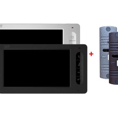 videodomofony - КОМПЛЕКТ ВИДЕОДОМОФОНА CTV-M1702 + CTV-D10NG - Комплект состоит из:  CTV-M1702 Монитора видеодомофона и CTV-D10NG Вызывной панели для цветного видеодомофона. - primcam.ru - primcam_ru - примкам - videonabludenie vladivostok