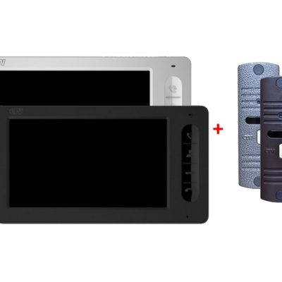 videodomofony - КОМПЛЕКТ ВИДЕОДОМОФОНА CTV-M700 + CTV-D10NG -  - primcam.ru - primcam_ru - примкам - videonabludenie vladivostok