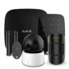ohrannye-sistemy - Комплект охранной LAN/GSM сигнализации Ajax StarterKit BLACK - Ajax StarterKit black Готовый набор беспроводной системы безопасности для защиты квартиры, дома, офиса или другого помещения от несанкционированного проникновения. Связь головного устройства Ajax Hub с датчиками осуществляется по беспроводному зашифрованному радиопротоколу Jeweller на расстоянии до 2000 метров открытого пространства. Отправка сигналов тревог по двум активным каналам связи GSM (телефонные звонки | SMS-сообщения) и Ethernet (push-уведомления) - primcam.ru - primcam_ru - примкам - videonabludenie vladivostok