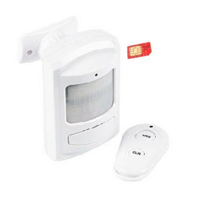 """ohrannye-sistemy - Автономная GSM Сигнализация """"Сторож"""" - При обнаружении движения на охраняемой территории (дом, дача, гараж, квартира и т.д.) GSM Сигнализация """"Сторож"""" оповестит вас о проникновении на охраняемый объект. Позволит защитить объект с минимальным бюджетом, выделенным на технические средства охраны или быстро развернуть охрану объекта, на время ремонта, или до окончания монтажных работ основной системы охраны. Имеет автономное питание от 3-х элементов Тип """"АА"""" (В комплект поставки не входят). Постановка на охрану и снятие с охраны производятся радиобрелком входящим в комплект поставки. - primcam.ru - primcam_ru - примкам - videonabludenie vladivostok"""