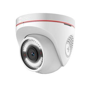 oblachnye-kamery-i-s-zapisju-na-kartu-pamjati, wi-fi-kamery, ip-kamery - Уличная Wi-Fi камера видеонаблюдения с активной защитой Ezviz C4W (2.8мм) - Уличная Wi-Fi камера видеонаблюдения с активной защитой Ezviz C4W  При обнаружении движения автоматически активируется работа сирены со стробоскопом (данная функция может быть отключена пользователем) и на ваш смартфон в режиме реального времени придет уведомление с фото и видеофиксацией.  Вы можете записать любое голосовое сообщение самостоятельно, которое будет срабатывать при обнаружении движения. Длительность записи от 3 до 10 секунд.  Защита от пыли и влаги IP67 - primcam.ru - primcam_ru - примкам - videonabludenie vladivostok